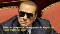 Berlusconi se sépare de sa compagne de 34 ans, Francesca Pascale, pour une femme encore plus jeune