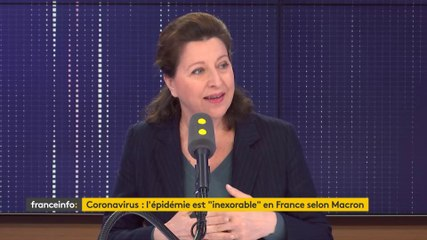 Agnès Buzyn - Franceinfo vendredi 6 mars 2020