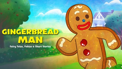 Gingerbread Man - English Tales For Kids