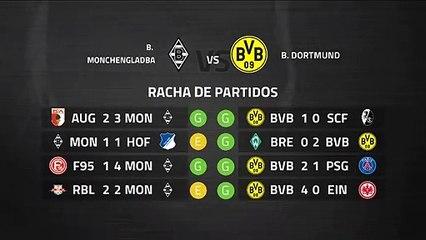 Previa partido entre B. Monchengladbach y B. Dortmund Jornada 25 Bundesliga