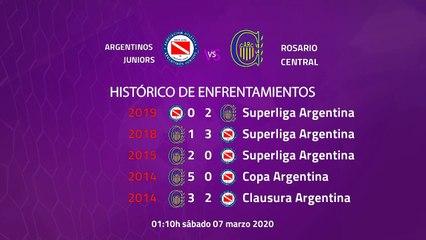 Previa partido entre Argentinos Juniors y Rosario Central Jornada 23 Superliga Argentina