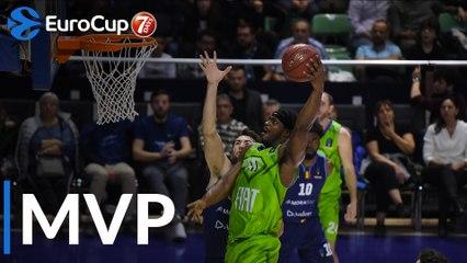 Top 16 Round 6 MVP, Devin Williams of Tofas Bursa