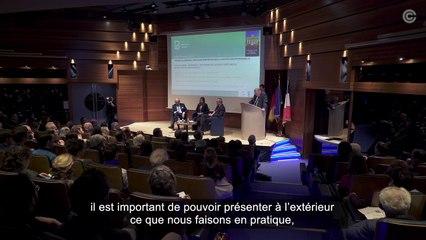 """Conférence-débat """"France-Allemagne : Les défis de la justice constitutionnelle"""" avec Andreas Vosskhule et Laurent Fabius"""