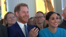 Prince Harry and Meghan Markle make first official UK engagement since royal split