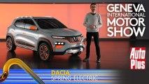 A bord du Dacia Concept Spring Electric (2020)