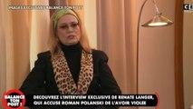 'Balance ton post'  - Renate Langer, qui accuse Roman Polanski de viol, livre un...