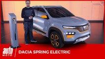 Dacia Spring Electric : le modèle électrique le plus abordable du marché