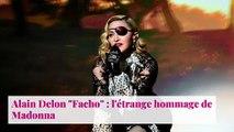 """Alain Delon """"Facho"""" : l'étrange hommage de Madonna"""