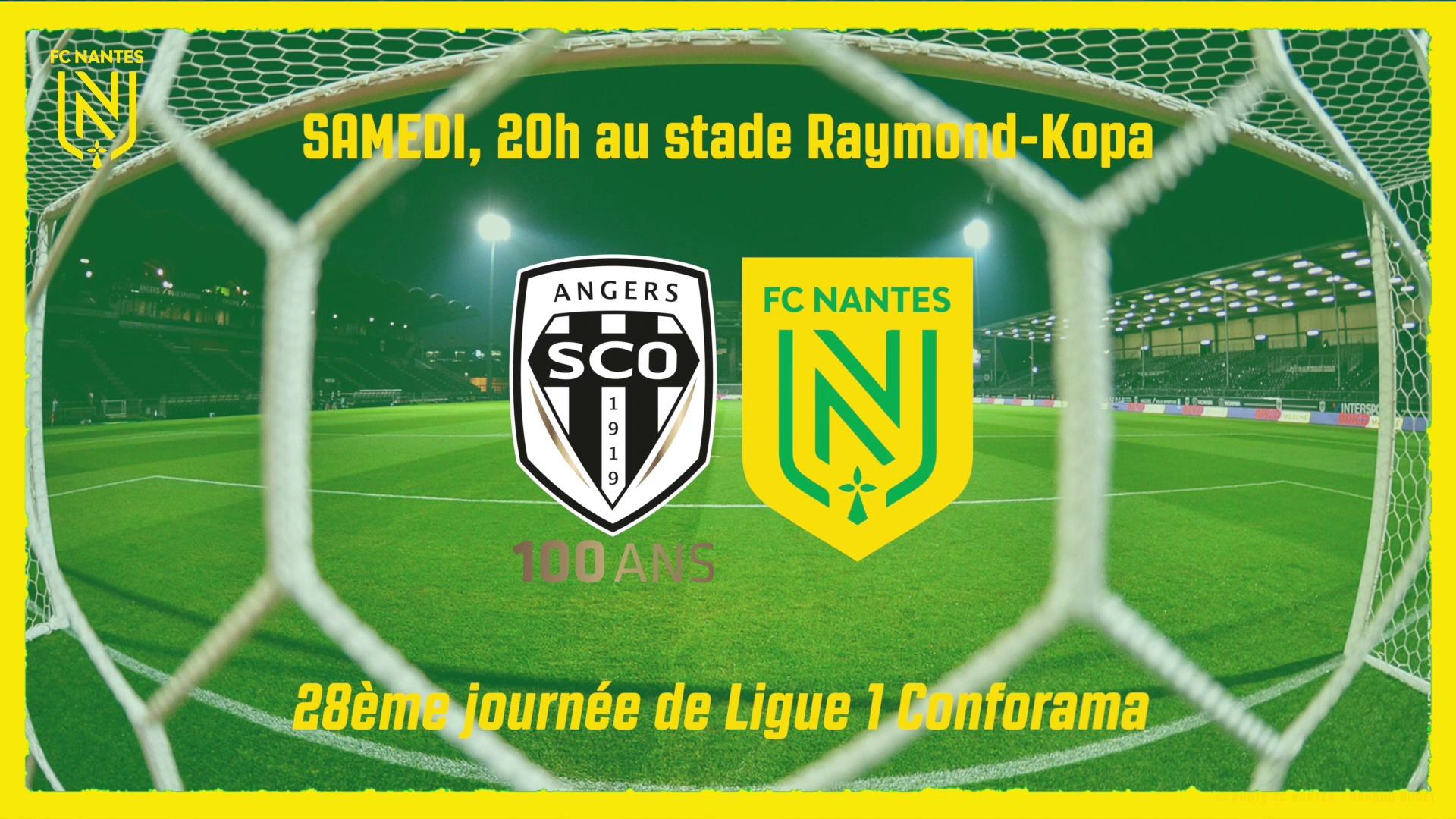 Angers SCO - FC Nantes : l'avant-match