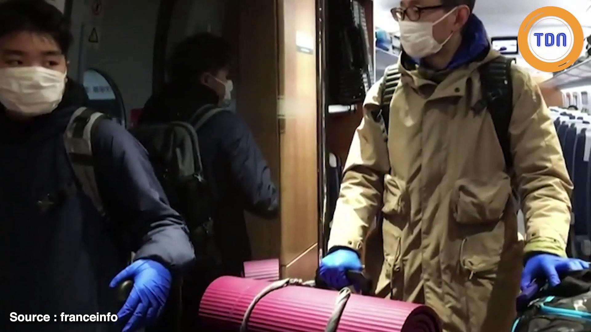 Coronavirus : voici le train pour Wuhan, la ville fantôme où s'est déclarée l'épidémie