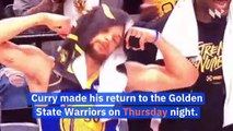 LeBron James Comments on Steph Curry's Return From Hand Injury