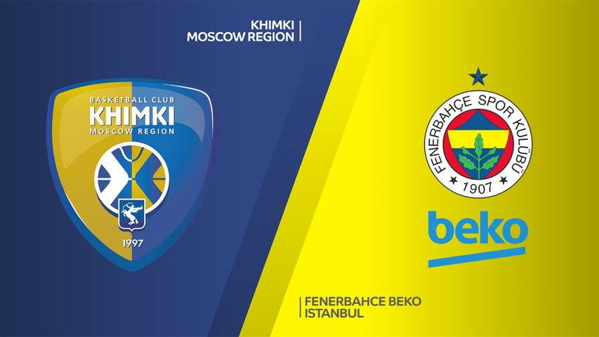 Khimki Moscow Region - Fenerbahce Beko Istanbul Highlights   Turkish Airlines EuroLeague, RS Round 28