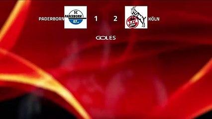 Resumen partido entre Paderborn y Köln Jornada 25 Bundesliga