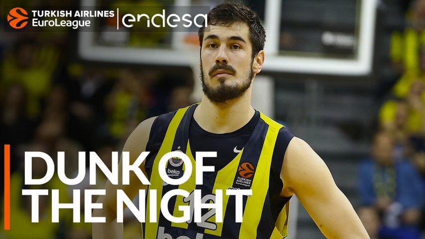 Endesa Dunk of the Night: Nikola Kalinic, Fenerbahce Beko Istanbul