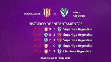 Previa partido entre Unión Santa Fe y Vélez Sarsfield Jornada 23 Superliga Argentina