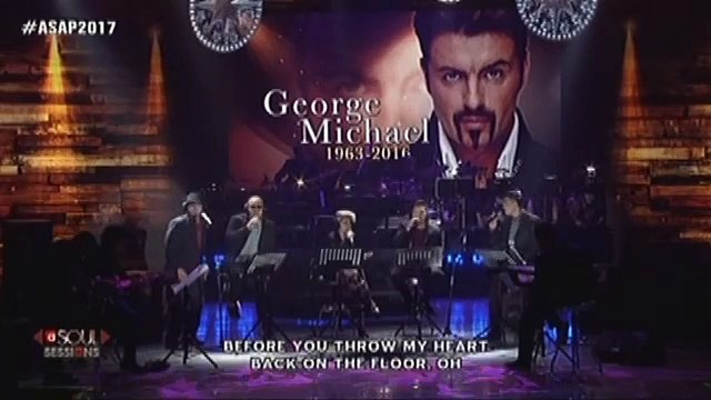 KZ, Daryl, Jason, Luke and Duncan pay tribute to the songs of George Michael on ASAP Soul Sessions