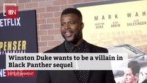 Winston Duke Has Villain Goals