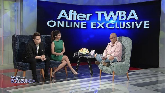 After TWBA with Enrique Gil and Liza Soberano