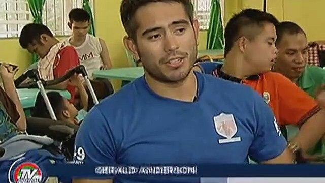 Gerald Anderson, napalapit na sa mga bata sa ampunan sa Montalban, Rizal