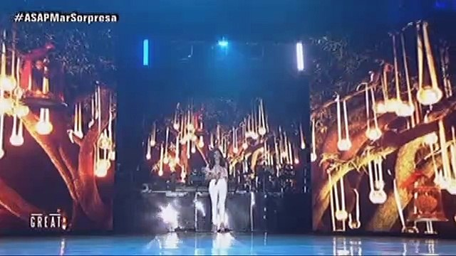 "Sarah and Yeng perform their first song collaboration """"Kaibigan Mo"""" on ASAP"