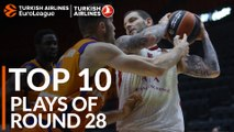 Turkish Airlines EuroLeague Regular Season Round 28 Top 10 Plays