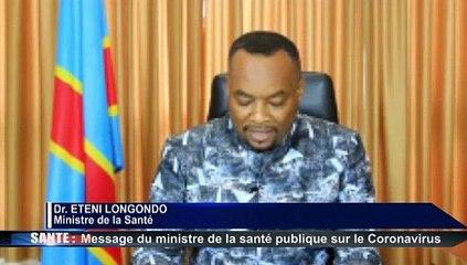 Sante : Un Premier cas de Coronavirus est confirme en RDC