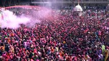 Colourful Holi festival celebrations underway in India