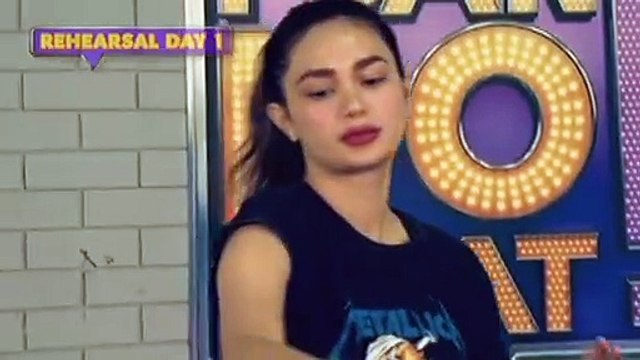 I Can Do That: Daniel, Arci and Ehrlich Ocampo Rehearsal