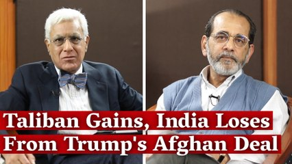 Taliban Gains, India Loses from Trump's Afghan Deal
