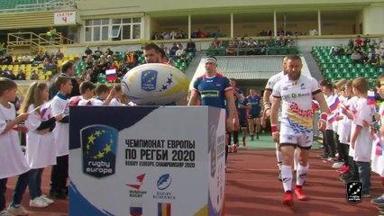 HIGHLIGHTS - RUSSIA / ROMANIA - RUGBY EUROPE CHAMPIONSHIP 2020 - KRASNODAR
