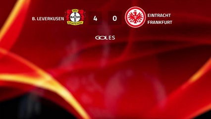 Resumen partido entre B. Leverkusen y Eintracht Frankfurt Jornada 25 Bundesliga