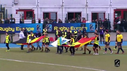 HIGHLIGHTS - BELGIUM/SPAIN - RUGBY EUROPE CHAMPIONSHIP 2020 - BRUSSELS