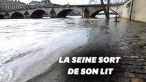 Les images de la crue de la Seine à Paris