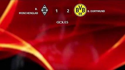 Resumen partido entre B. Monchengladbach y B. Dortmund Jornada 25 Bundesliga
