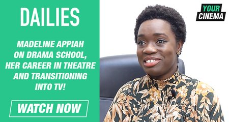 Madeline Appiah on her drama school experiences & transitioning into TV!
