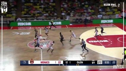 Axel Julien Points in Monaco vs. Dijon