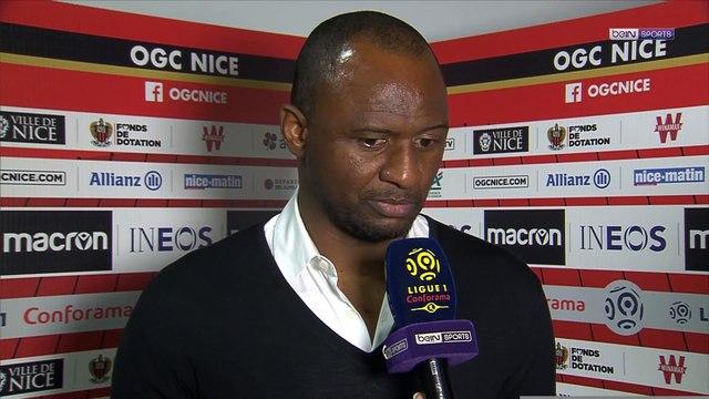 """Nice - Vieira : """"Mes joueurs n'ont pas baissé les bras"""""""