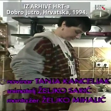 Dobro jutro Hrvatska s Dinom, Danijelom i Ellom Dvornik 1994.