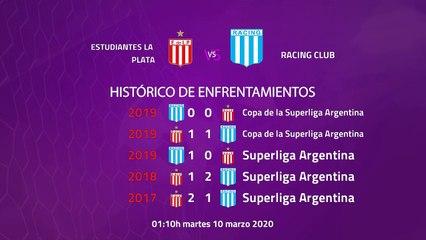 Previa partido entre Estudiantes La Plata y Racing Club Jornada 23 Superliga Argentina