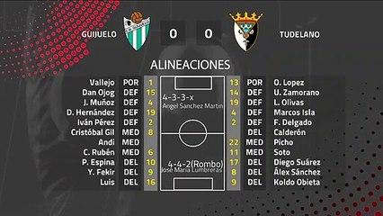 Resumen partido entre Guijuelo y Tudelano Jornada 28 Segunda División B