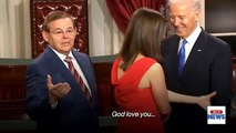 Is Biden's touchiness out of touch? Revisit his mock swear-ins