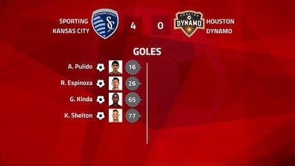 Resumen partido entre Sporting Kansas City y Houston Dynamo Jornada 3 MLS - Liga USA