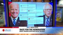 Biden and Sanders trade barbs on Twitter