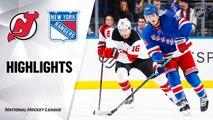 NHL Highlights   Devils @ Rangers 3/7/20