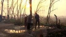 Sığınmacıların Yunanistan sınırında bekleyişi sürüyor