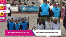 International à pétanque de Ruoms 2019 : Demi-finale FRANCE vs GOTTI