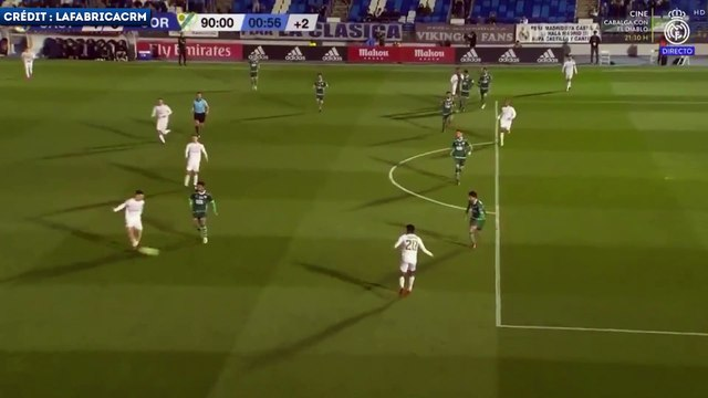 Le doublé de la pépite Reinier avec le Real Madrid Castilla