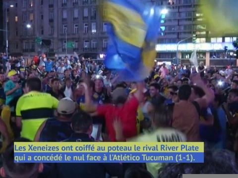 Argentin - Les supporters de Boca exultent après le titre !