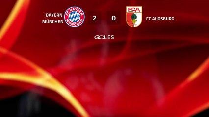 Resumen partido entre Bayern München y FC Augsburg Jornada 25 Bundesliga