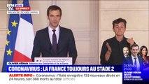 """Olivier Véran: """"Tous les rassemblements de plus de 1.000 personnes sont désormais interdits"""""""